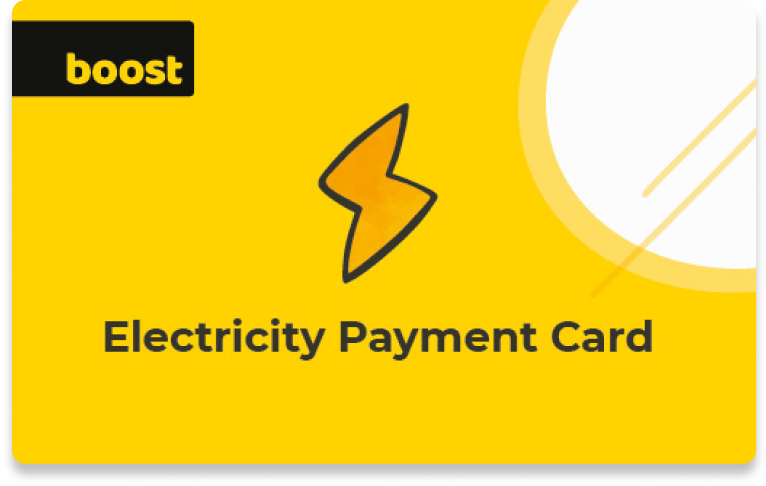 Boost-electricity-card